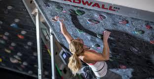 freestanding climbing wall