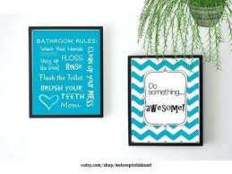 printable bathroom signs for kids kids art here is a set of two s72 bathroom