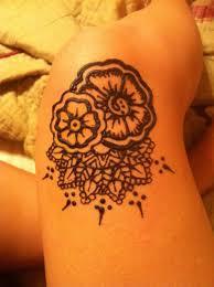 Henna Knee Tattoo For Girls Tattoos Book 65000 Tattoos Designs