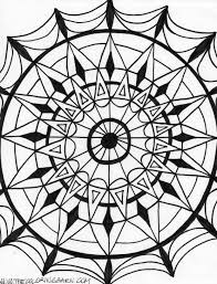 Small Picture Kaleidoscope Coloring Pages jacbme