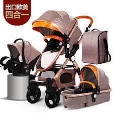 lightweight Baby <b>stroller</b> folding can sit reclining <b>high landscape two</b> ...