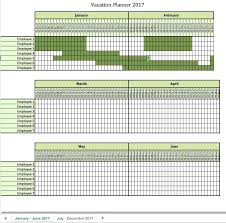 Holiday Planner Template Staff Holiday Template Wepage Co