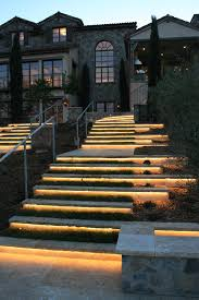 lighting steps. splashy led strip lights vogue san francisco mediterranean landscape inspiration with exterior stone limestone natural lighting steps i