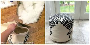 How To Stuff A Pouf
