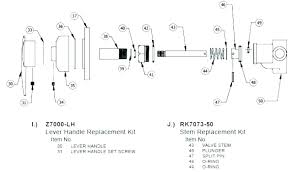 moen shower valve replacement parts diagram installation instructions kit