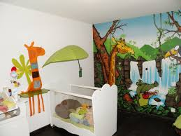 Emejing Stickers Chambre Bebe Garcon Jungle Pictures Lalawgroup