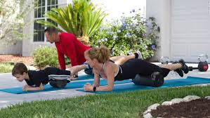 myofascial release you can roll virtually every part of your body but in the photos fitness for the whole family