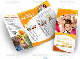 Kindergarten Brochure Templates Free Premium ~ Kindergarten Brochure ...