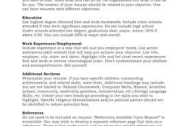 Resume Order Of Sections Resume Order Of Sections How To Write Functional Or Skills Withnces 5
