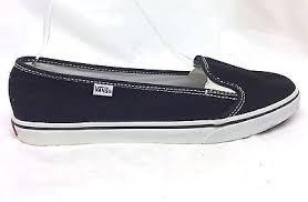 vans womens slip ons. new vans size 7.5 women slip on kvd flats shoes canvas black white womens ons