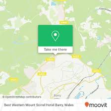 How To Get To Best Western Mount Sorrel Hotel Barry In The