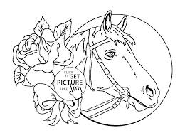 Horse Coloring Pages Printable Awesome Horse Pictures To Color