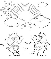 Small Picture Bear Coloring Pages Perfect Teddy Bear With Bow Picture To Color
