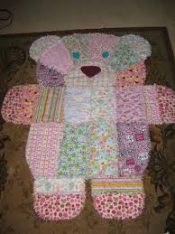 Teddy Bear Patchwork Quilt Is A Must Make | Teddy bear, Patchwork ... & Baby rag quilts Adamdwight.com