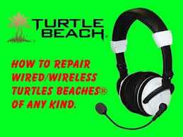 how to repair turtle beaches of any kind how to repair turtle beaches of any kind