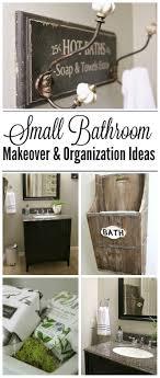 Small Bathroom Makeover And Organization Ideas Clean And Scentsible - Small bathroom makeovers