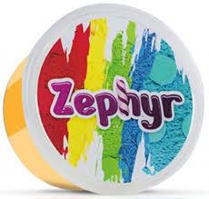<b>Zephyr Кинетический пластилин</b> цвет оранжевый — купить в ...