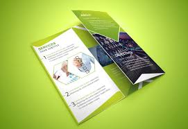 Foldable Brochure Template Free Tri Fold Brochure Template 20 Free Easy To Customize Designs