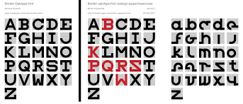 Eye Chart Typeface Snellen Optotype Font Upper And Lower Case Martin
