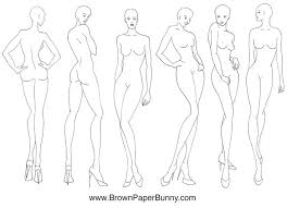 Blank Fashion Design Templates Classy Fashion Figure Drawing At GetDrawings Free For Personal Use