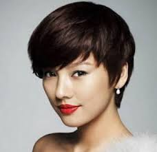 Chinese Women Hair Style korean girl hairstyles short for round face haircuts for girls 5035 by wearticles.com