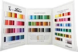 Finca Perle Cotton Color Chart
