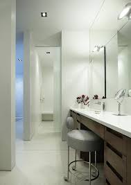 lighting for vanity makeup table. Powder Room Makeup Bathroom Vanity With Table Contemporary Lighting Stool The For