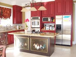 red country kitchens. Modren Country Nice Red Country Kitchen Decor Around Cool To Kitchens