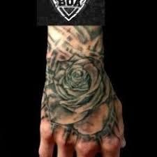 Tetování Květiny Cover Up Ruka Tetování Tattoo