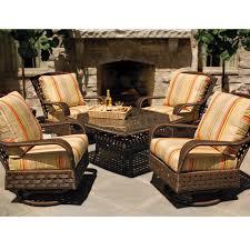 Chic Outdoor Conversation Furniture Lloyd Flanders Haven Patio Set