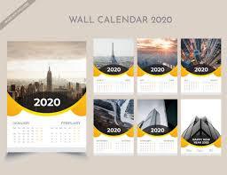 Free Download Wall Calendar 2020 Templates Luckystudio4u