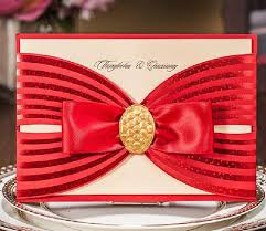 compare prices on evening wedding invitations online shopping buy Buy Evening Wedding Invitations red gold stamp wedding invitatioons free personalized printing evening invites wedding cards with ribbon cw6005 free Luau Wedding Invitation Templates