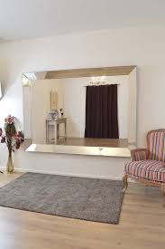 home decoration astounding frameless antique mirrors with rectangle mirror wall for modern living room decorations