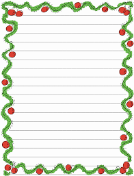 Christmas Writing Paper Template Free Printable Christmas Writing Paper Templates Inspirational 6 Best Of