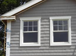 diy window awnings trim molding exterior window trim ideas
