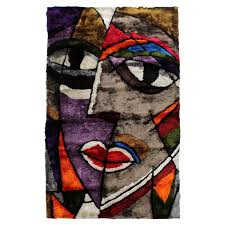 picasso 5 x 8 area rug main image 1 of 4