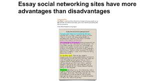 essay social networking sites have more advantages than essay social networking sites have more advantages than disadvantages google docs