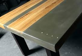 concrete and wood dining table dining table dining tables how to make concrete table with wood concrete and wood dining table