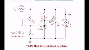 Shunt Regulator Circuit Design Tl431 Shunt Regulator Circuits Explained