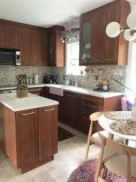 how to paint laminate cabinets the