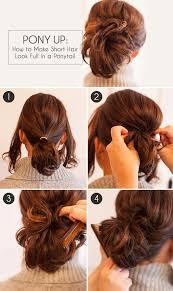 Image Coiffure A Faire Sois Meme Facile Cheveux Court