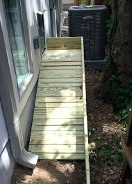 photo of pet independence united states custom dog ramp for deck build diy outdoor stairs finished