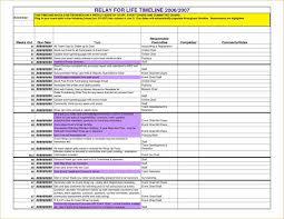 Event Timeline Event Planning Timeline Template 24 Best Template Idea 9