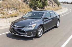 new car 2016 toyota2016 Toyota Camry vs 2016 Toyota Avalon Whats the Difference
