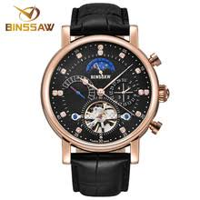<b>BINSSAW Men New Automatic</b> Mechanical Watch Tourbillon Luxury ...