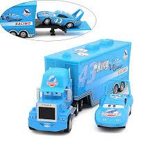 <b>2 pcs / lot Cars</b> 2 100% original car toys Pixar alloy and plastic Mack ...
