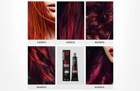 Goldwell Red Collection