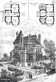 gothic house plans small victorian cottage home carpenter