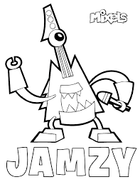 Small Picture Holiday Coloring Pages Lego Mixels Coloring Pages Free