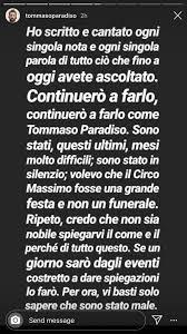 Listen to ricordami tommaso paradiso in full in the spotify app. Le Piu Belle Frasi Di Tommaso Paradiso Home Facebook